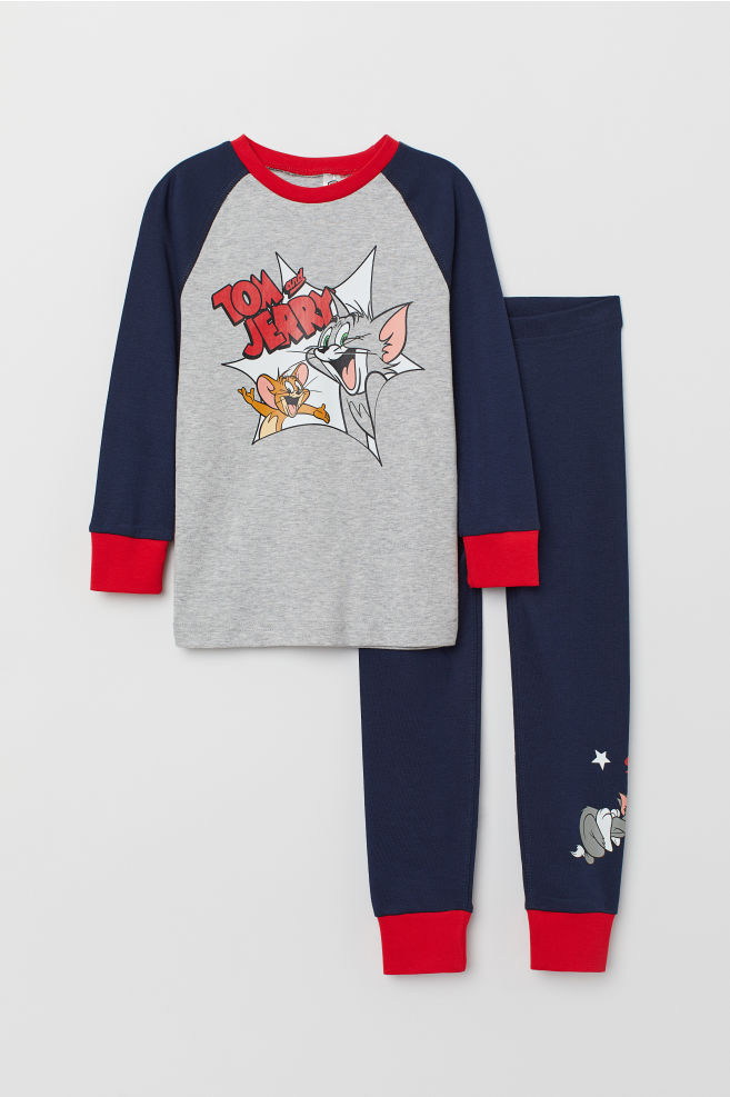 bf8745e4cd Jersey pyjamas - Dark blue Tom and Jerry - Kids