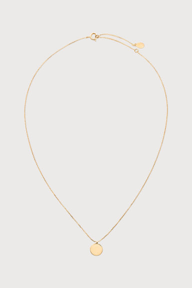Gold-plated necklace - Gold-coloured -  | H&M