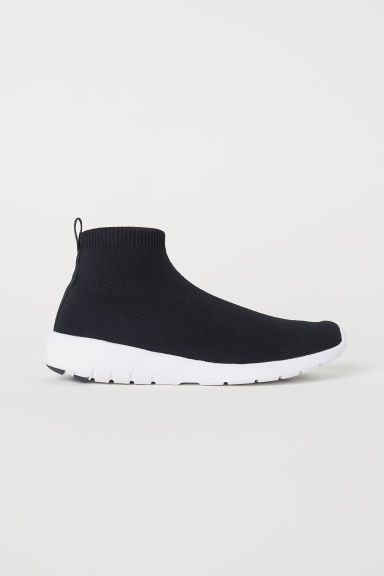 Fully-fashioned trainers - Black -  | H&M CN