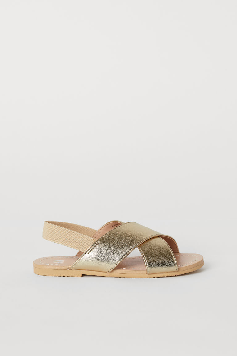 Sandals - Gold-coloured - Kids | H&M IE