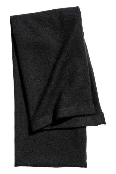 Cashmere scarf - Black - Ladies | H&M CN
