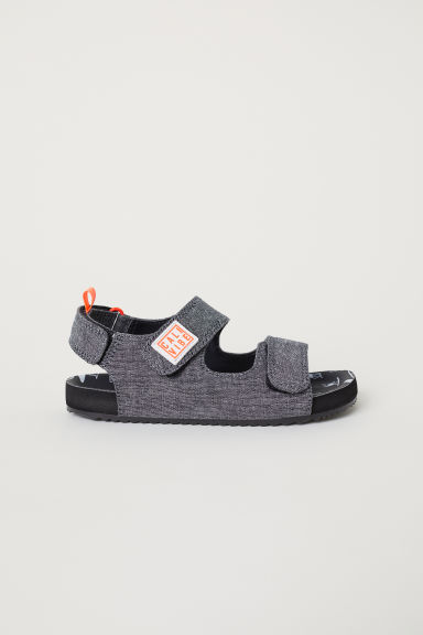 Sandals - Dark grey -  | H&M CN