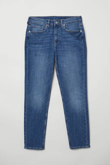 Girlfriend Regular Jeans - Denim blue -  | H&M