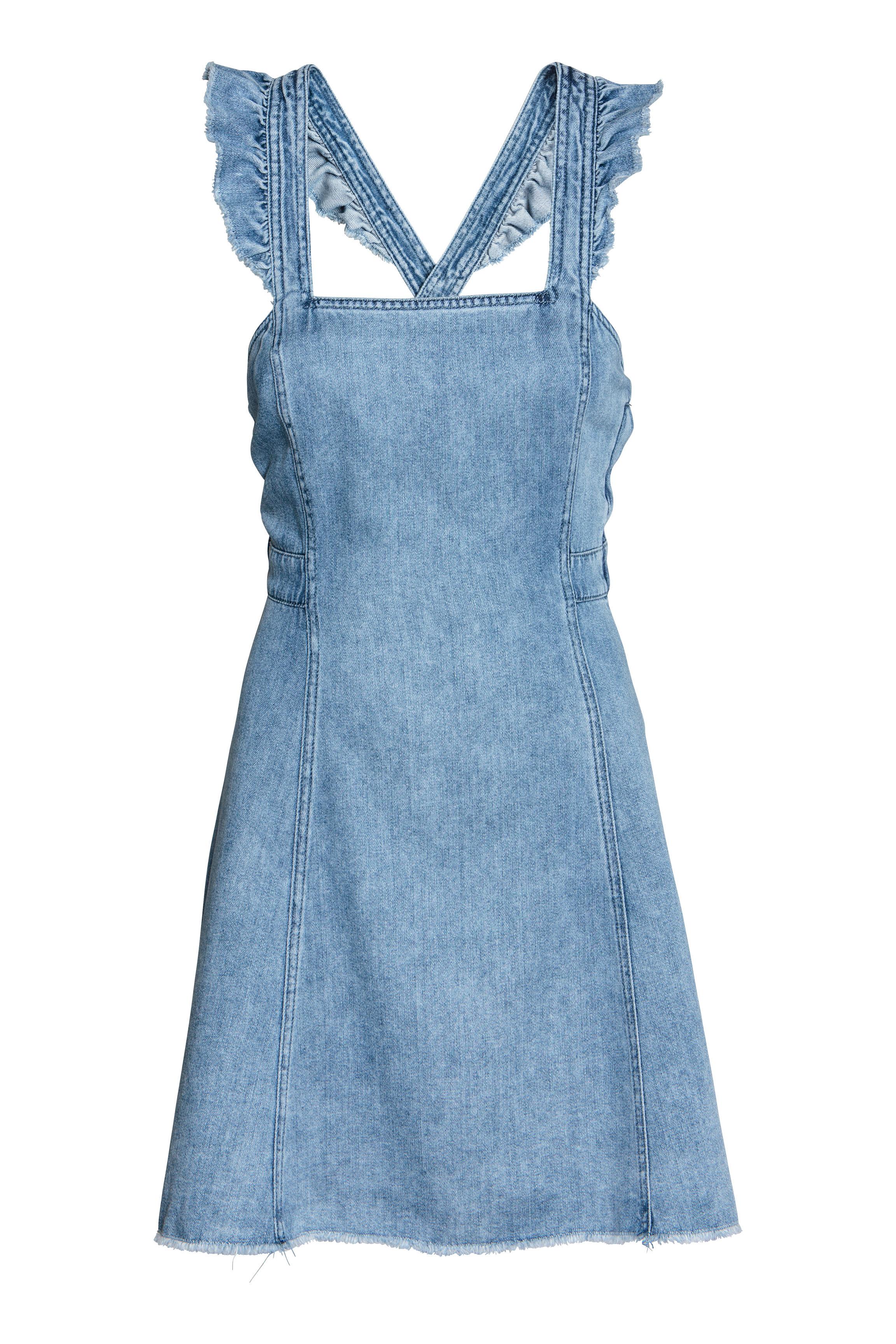 44839b72b5 Sukienka dżinsowa - Niebieski denim - ONA