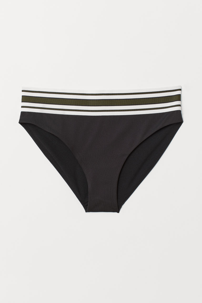Bikini bottoms High Rise - Black - Ladies | H&M CN