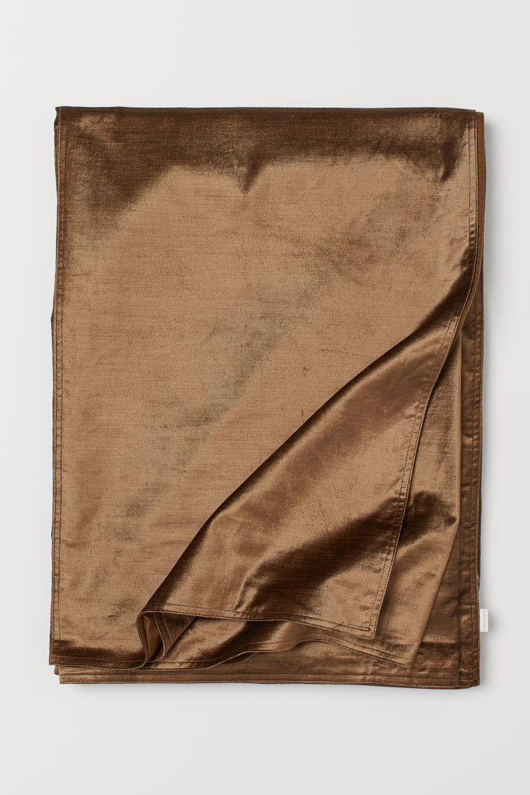 Velvet Bedspread - Dark beige - Home All | H&M CA