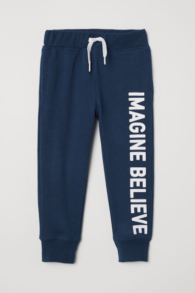 Joggers - Dark blue/Imagine - Kids | H&M CN