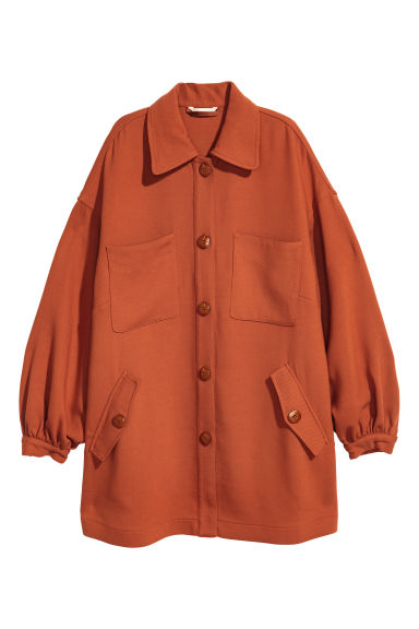Short coat - Rust - Ladies | H&M GB