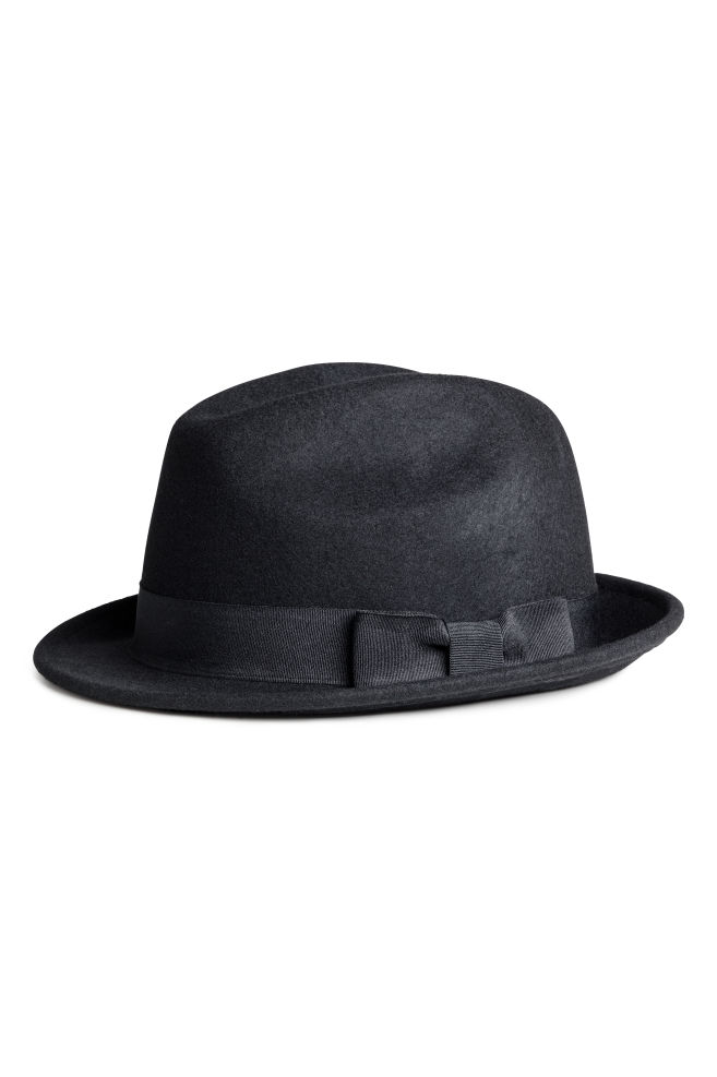 3ab9da80404 Wool Hat - Black - Men
