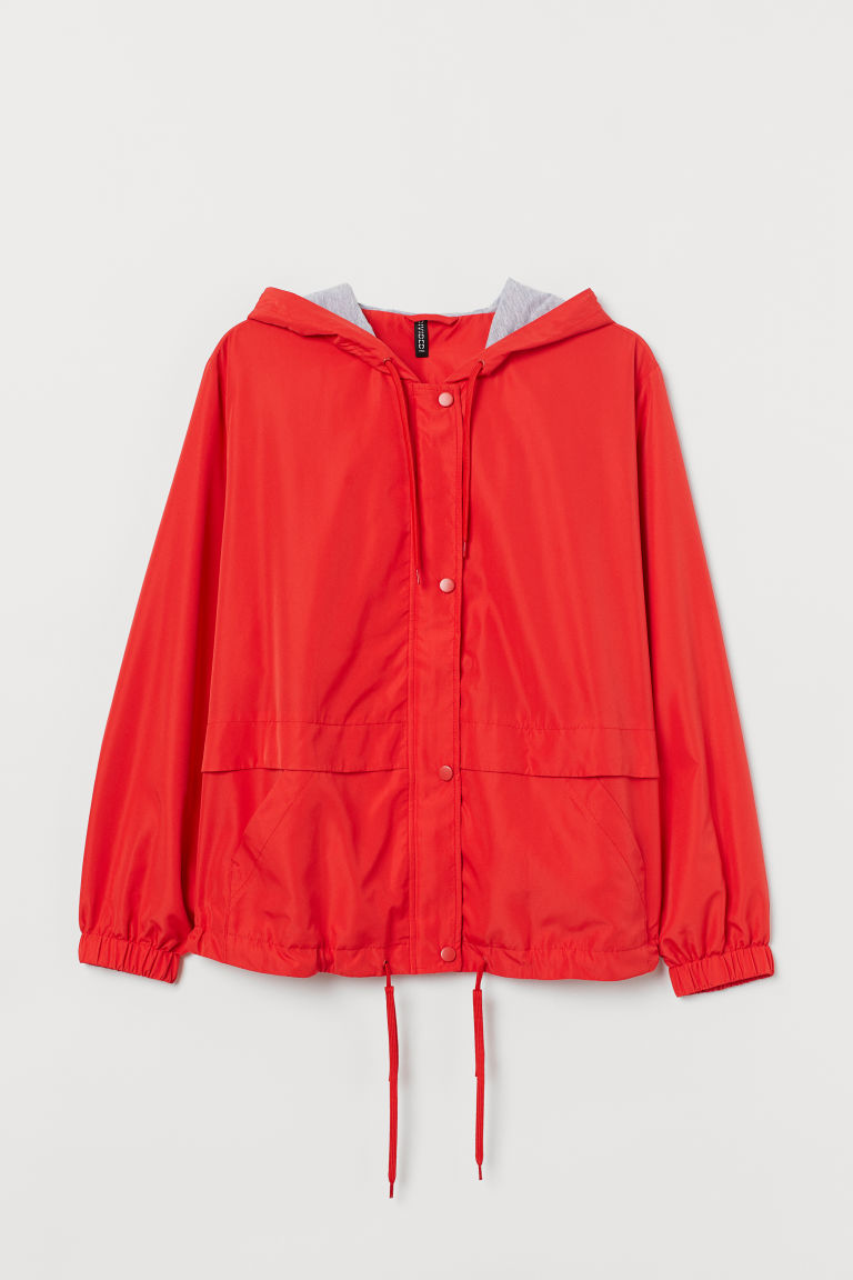 H&M+ Hooded jacket - Red - Ladies | H&M