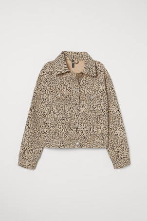 Patterned Twill Jacket