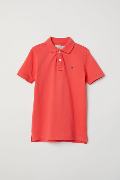 Polo shirt - Coral - Kids | H&M IE