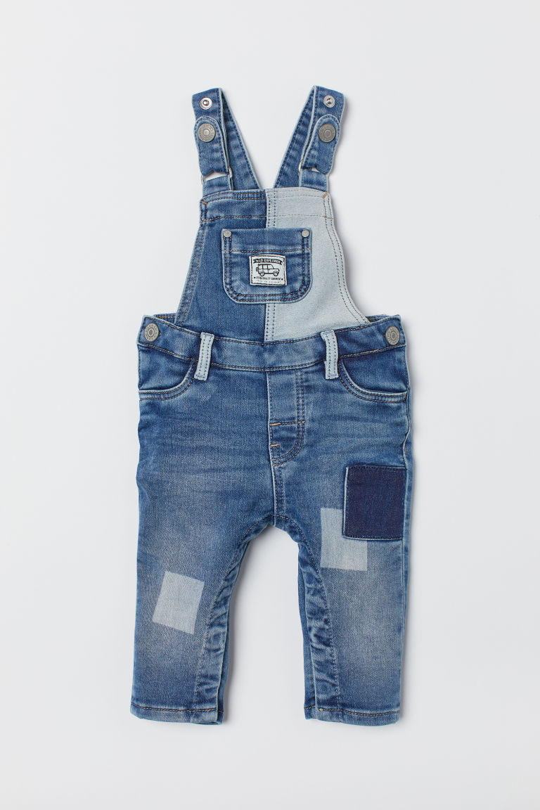 Bib Overalls - Denim blue - Kids | H&M CA