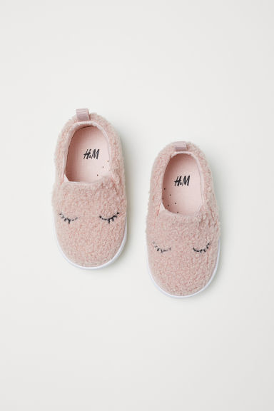 Slip-on sneakers - Poederroze - KINDEREN | H&M BE