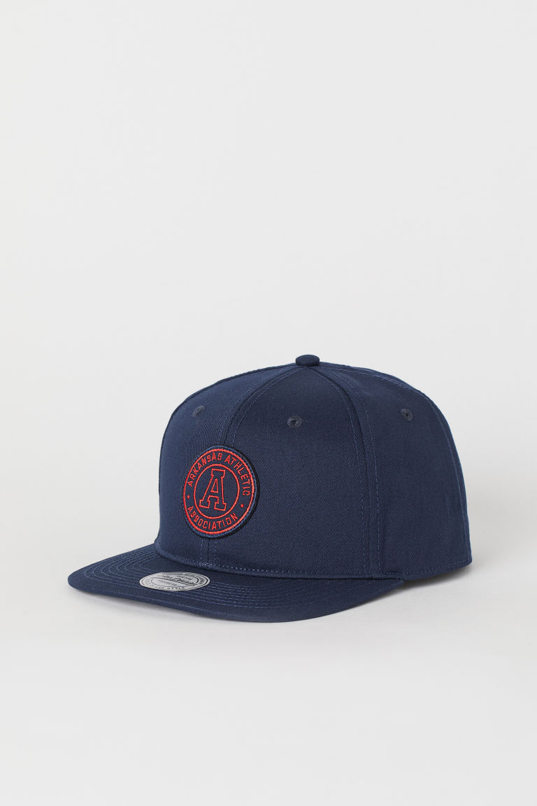 Cap - Dark blue - Men | H&M