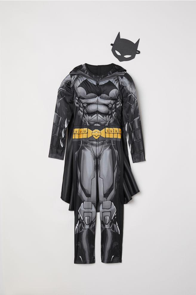 スーパーヒーローコスチューム ブラック バットマン kids h m jp