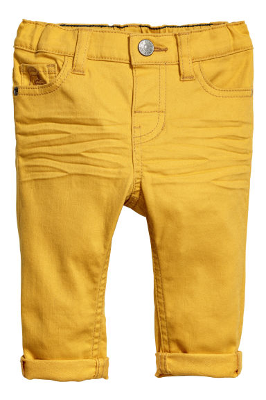Twill trousers - Amarelo -  | H&M PT