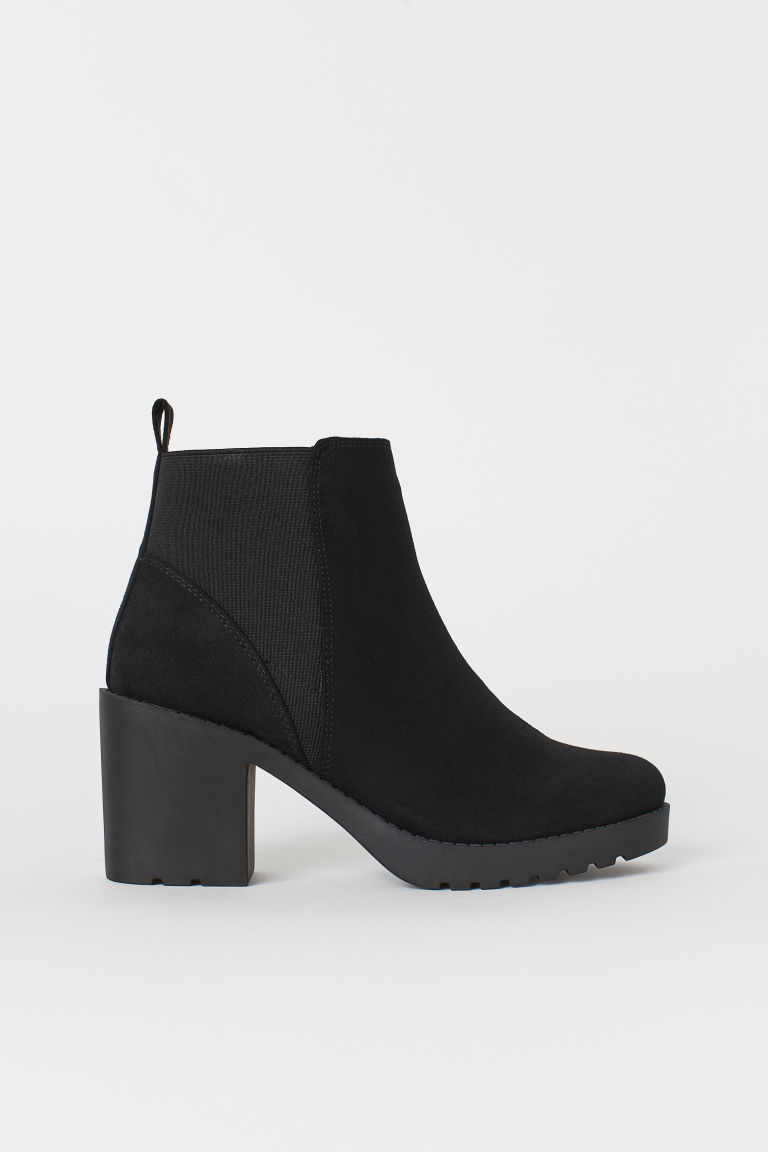 Ankle boots - Black/Matt - Ladies | H&M