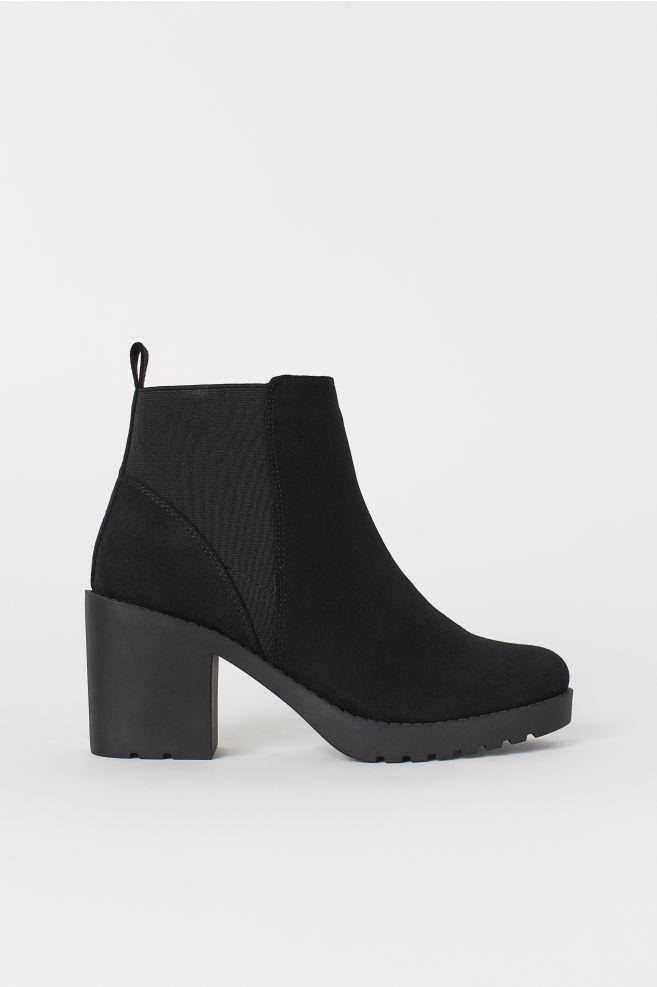 8a5c63ed34cf Ankle boots - Black/Matt - | H&M ...