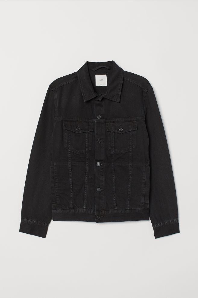 2786c61e Denim Jacket - Black denim - | H&M ...