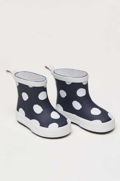 Wellingtons - Dark grey/Spotted -  | H&M CN