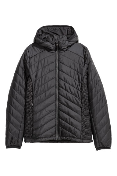 Veste outdoor matelassée - Noir -  | H&M BE