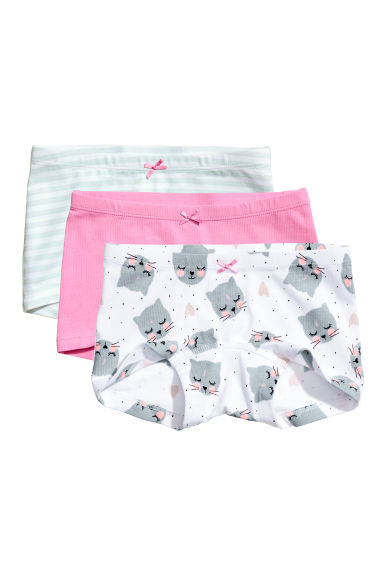 3-pack boxer briefs - Pink - Kids | H&M