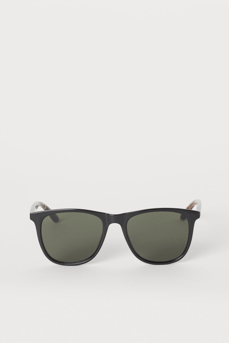 Sunglasses - Black/tortoiseshell-patterned - Men | H&M US