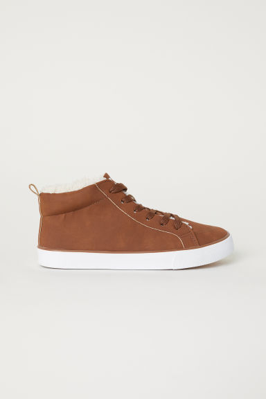 Medium-high trainers - Brown - Kids | H&M CN