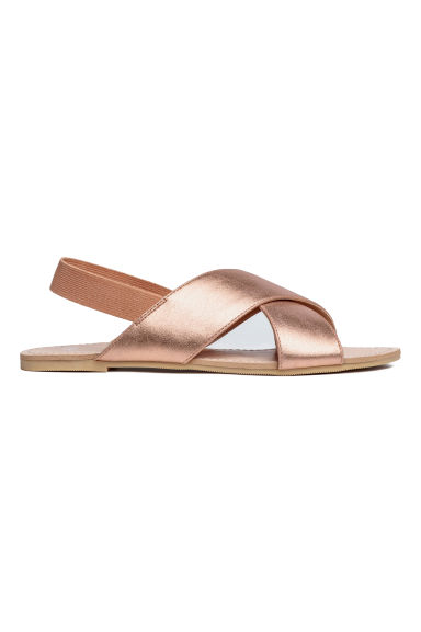 Sandals - Metallic rosé -  | H&M CN