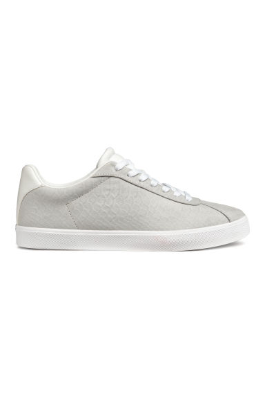 Trainers - Light grey/Imitation suede - Ladies | H&M
