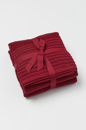 2-pack bath towels