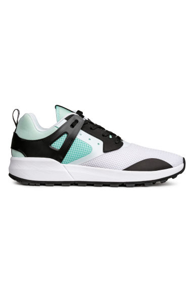 Sneakers in mesh - Verde menta - UOMO | H&M IT