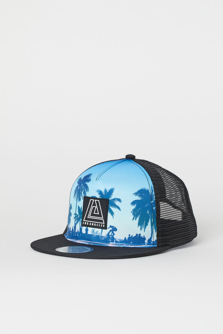 Twill cap - Black/Los Angeles - Kids | H&M