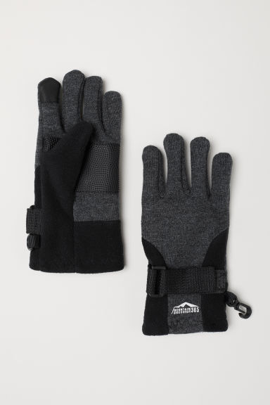 Smartphone gloves - Dark grey marl - Kids | H&M