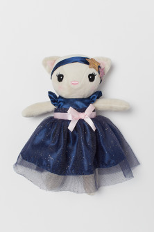 Soft toy with a dress