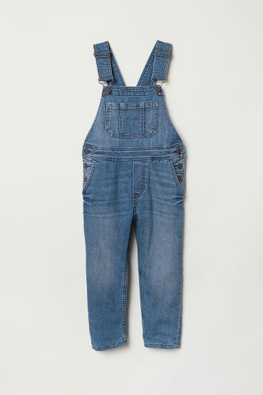 Lined dungarees - Denim blue - Kids | H&M CN