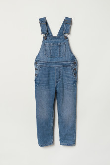 Lined dungarees
