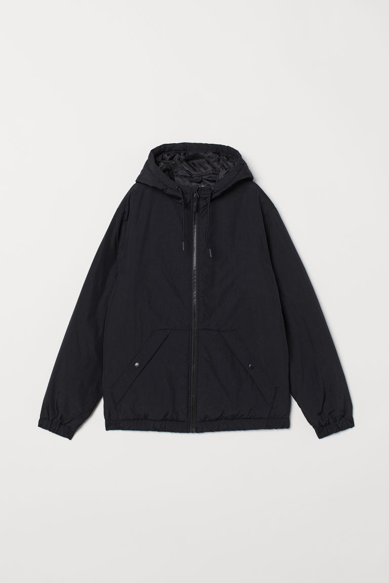 Padded jacket - Black - Men | H&M CN
