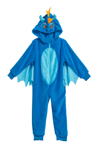 Fancy dress costume - Bright blue/Dragon - Kids | H&M