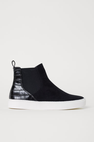 Trainers with elastic gores - Black - Ladies | H&M CN