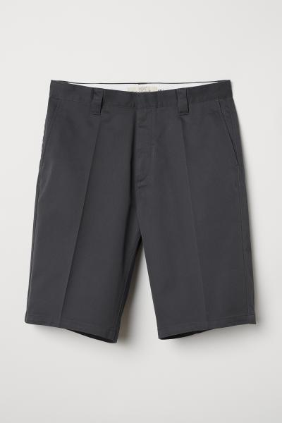 H&M - Pantalón corto en sarga - 1