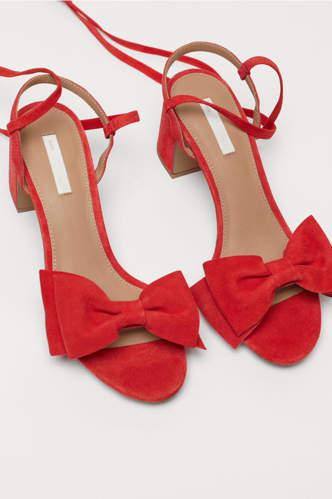 20343326aab ... Shoes · Pumps   High Heels  Suede Sandals. Suede Sandals - Red - Ladies