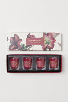 Boxed 4-pack scented candles