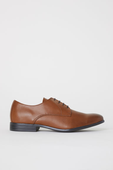 Derby shoes - Cognac brown - Men | H&M