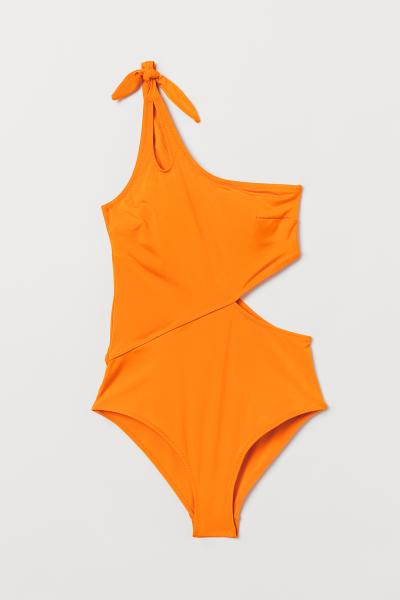 H&M - One-Shoulder-Badeanzug - 4