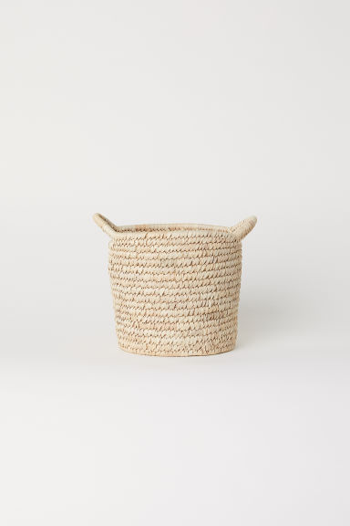 Small storage basket - Natural - Home All | H&M IE