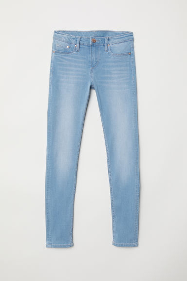 Super Soft Skinny Fit Jeans - Light denim blue - Kids | H&M