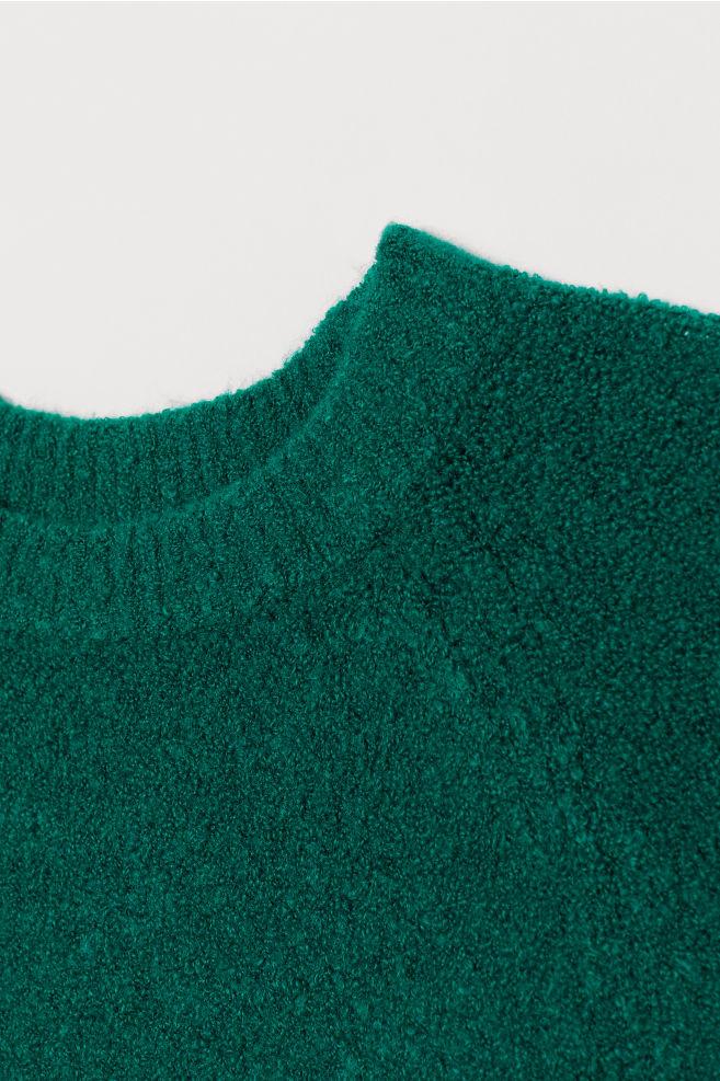 faf5180c7e9 Fine-knit jumper - Emerald green - Ladies