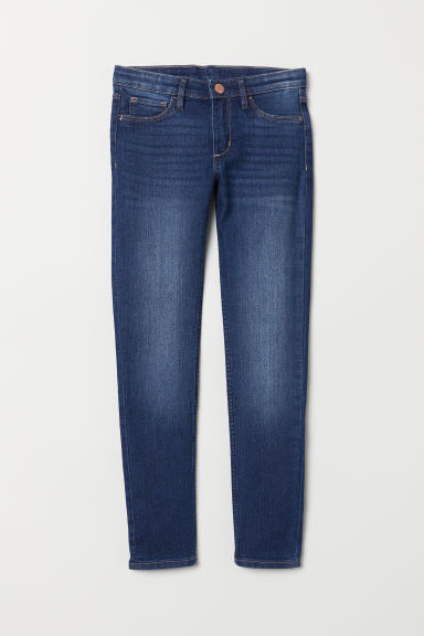Superstretch Skinny Fit Jeans - Bleu denim foncé - ENFANT | H&M FR